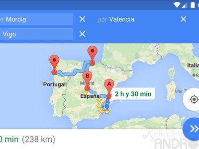 Con este truco puedes navegar hacía múltiples destinos con Google Maps para Android
