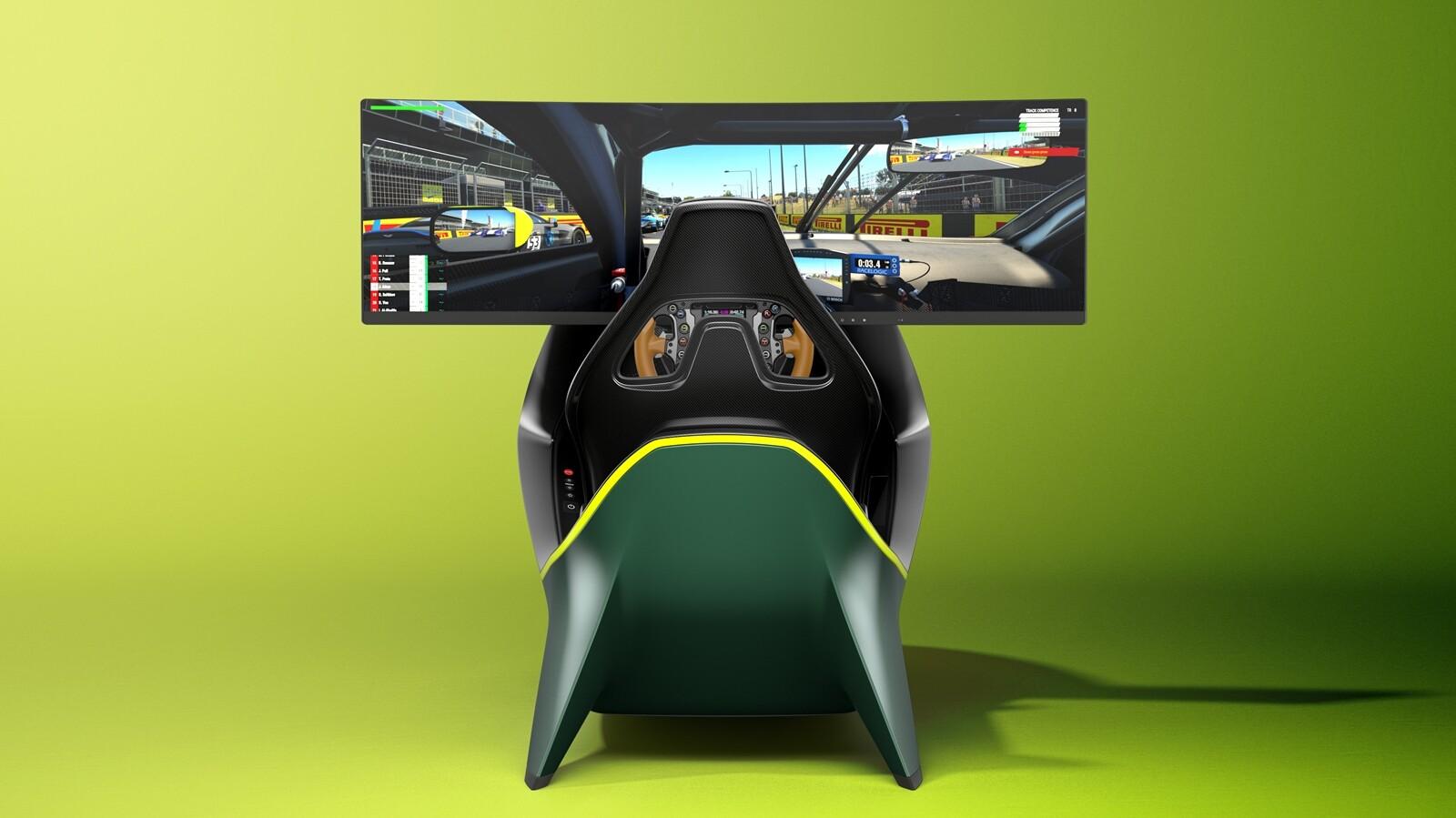 Foto de Simulador Aston Martin AMR-C01 (12/19)