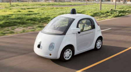 Google Car Big