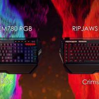 G.Skill entra al mercado de periféricos con teclados Ripjaws KM780 RGB y KM780 MX