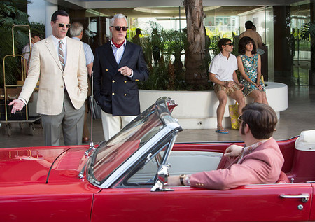 Don Draper y Roger Sterling con look casual friday
