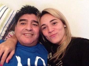 """Maradona también se ha hecho un """"Uma Thurman"""" y no, no es broma"""