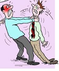 Las diez causas de ira en el trabajo