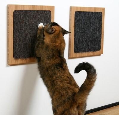 Rascador de pared para gatos