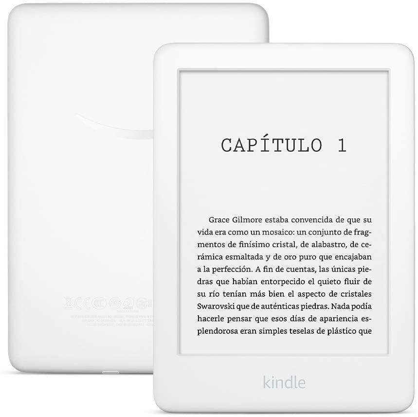 E-reader Kindle, ahora con una luz frontal, color Blanco, 10ª generación - 2019