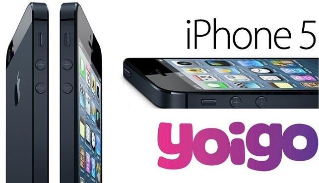 Precios iPhone 5 con Yoigo con La del 2 e Infinitas