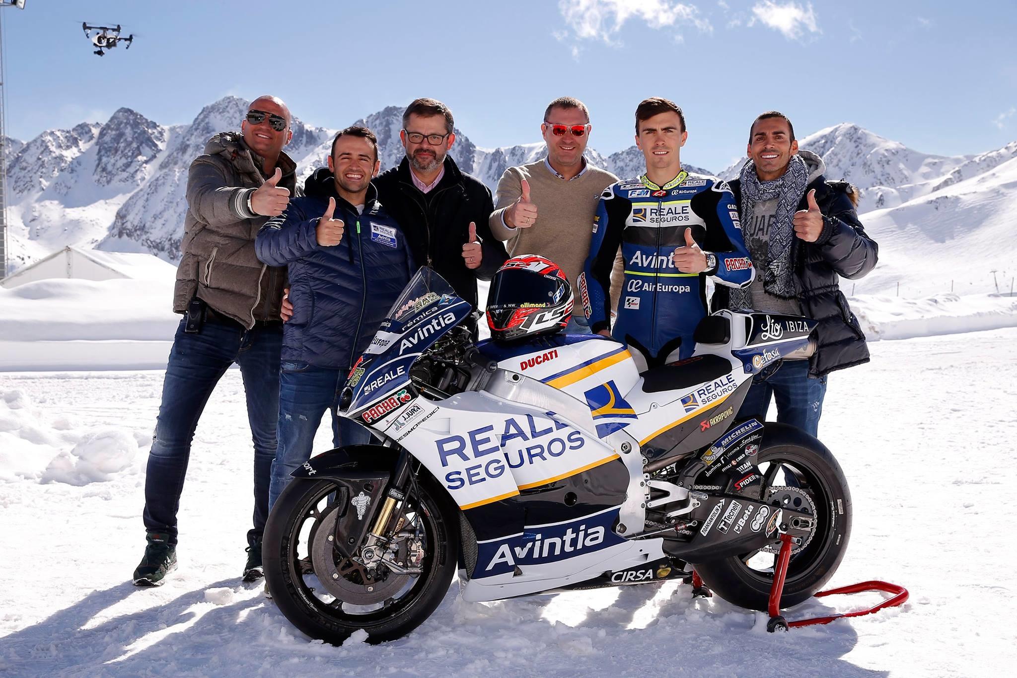 Presentación Reale Avintia Racing MotoGP 2017