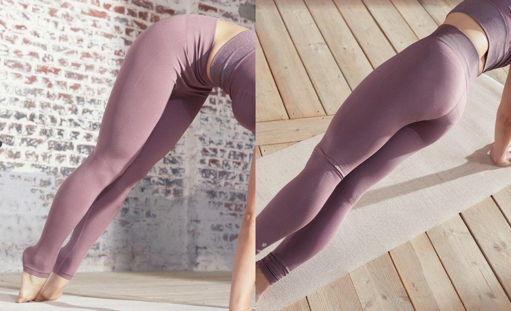Mallas sin costuras para yoga