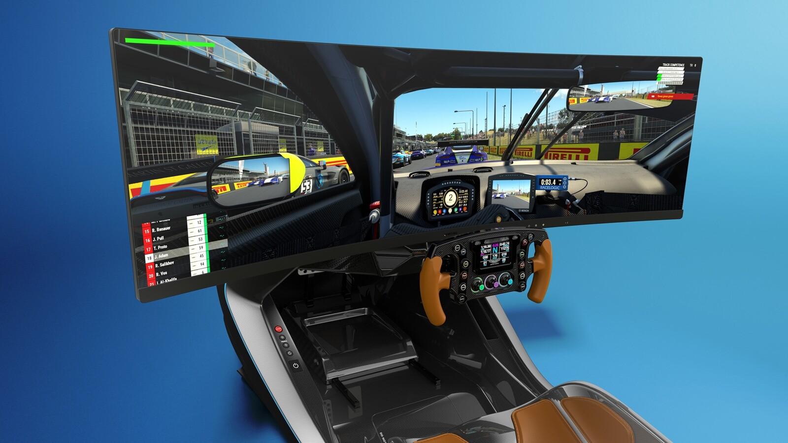 Foto de Simulador Aston Martin AMR-C01 (1/19)