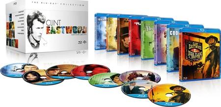 Colección Clint Eastwood, con 8 películas en Blu-ray, por 14,55 euros