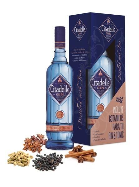 Citadelle quiere que esta Navidad no le falten botánicos a tu Gin&Tonic
