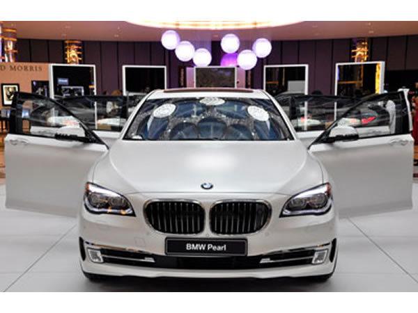 BMW lanza las Pearl Series para clientes del Middle East