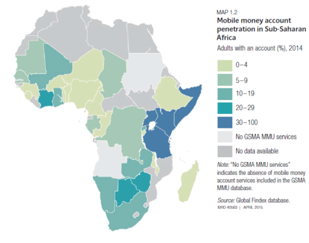 Mapa Uso Africa