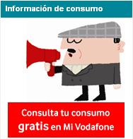 Consulta de saldo/consumo gratis en Mi Vodafone