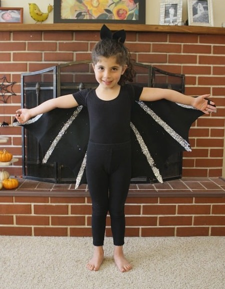 Disfraz Halloween Facil Barato Murcielago 2