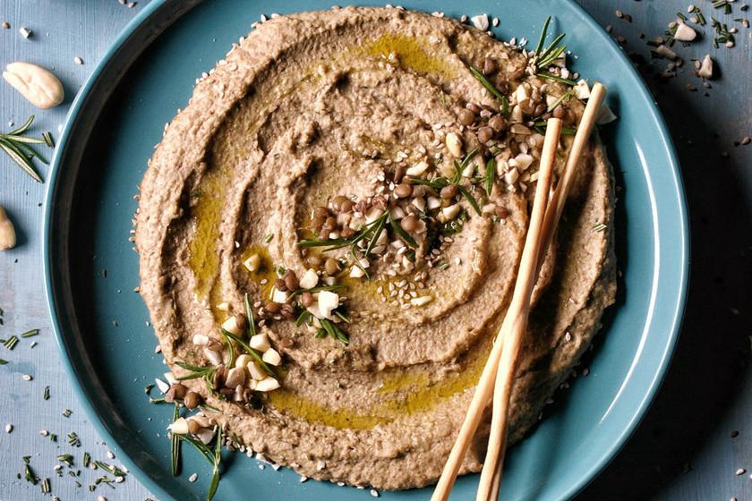 Receta de hummus de lentejas, el aperitivo que te va a encantar