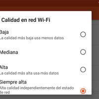Google Play Music: cómo seleccionar la calidad en Wi-Fi y de descarga de tu música