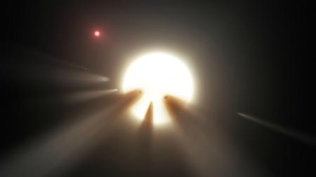Se desvela el misterio: en la estrella KIC 8462852 no hay megaestructuras, sólo son cometas