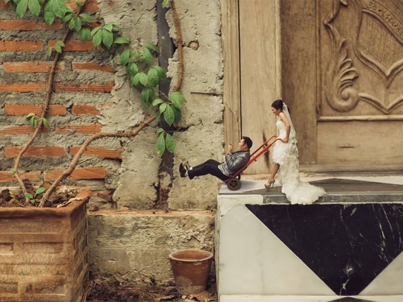 He buscado al fotógrafo de bodas más original y esto es lo que he encontrado