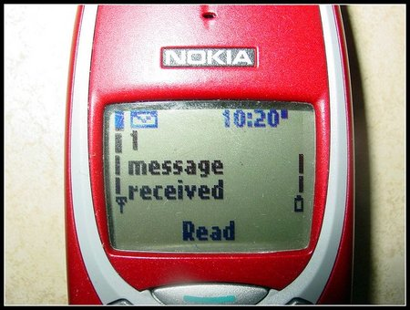 Feliz cumpleaños, SMS!