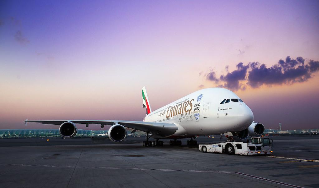 Emirates A380 Dual Class Configuration