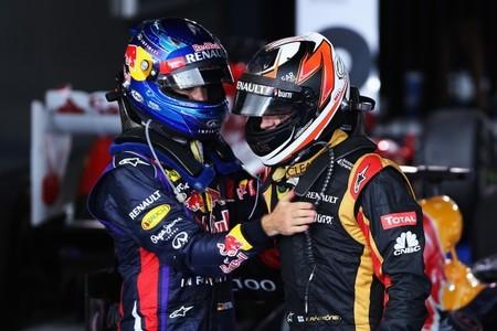 Sebastian Vettel no está seguro de que Kimi Räikkönen vaya a ser su próximo compañero