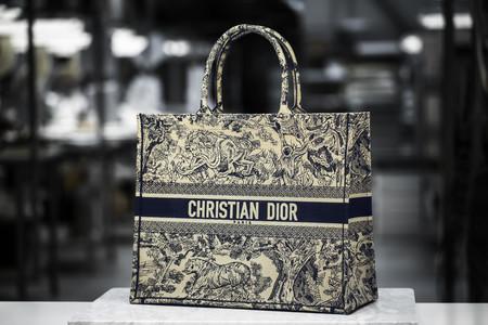 Dior Cruise2019 Toile De Jouy Book Tote Savoir Faire 17