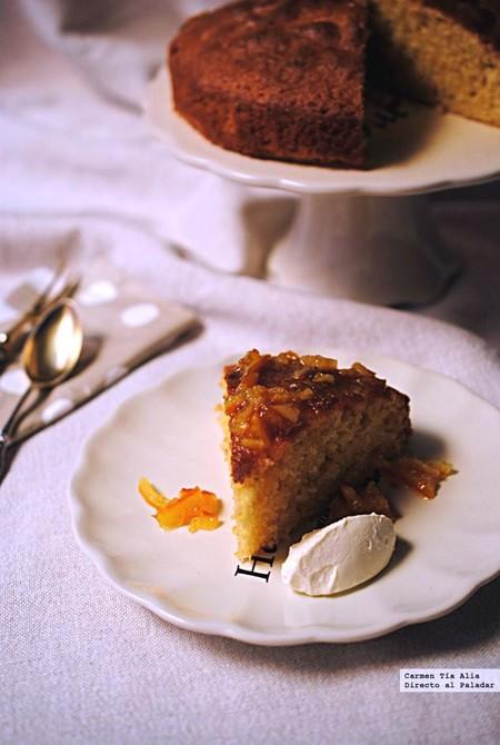 Pastel rápido de naranja: receta rápida y sin complicaciones