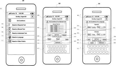 Apple patenta el filtrado de contenido para mensajes de texto
