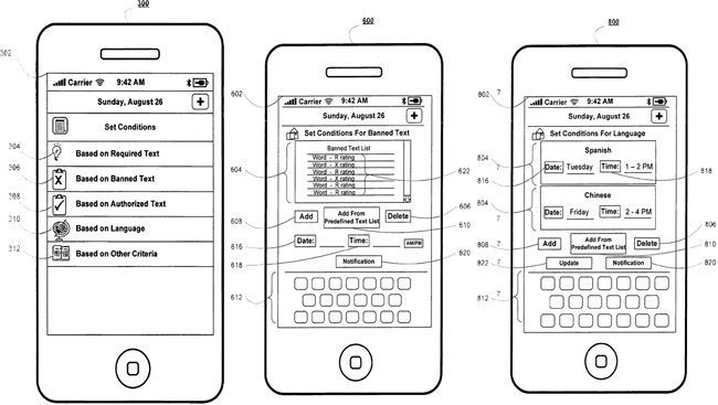 iPhone Apple patente