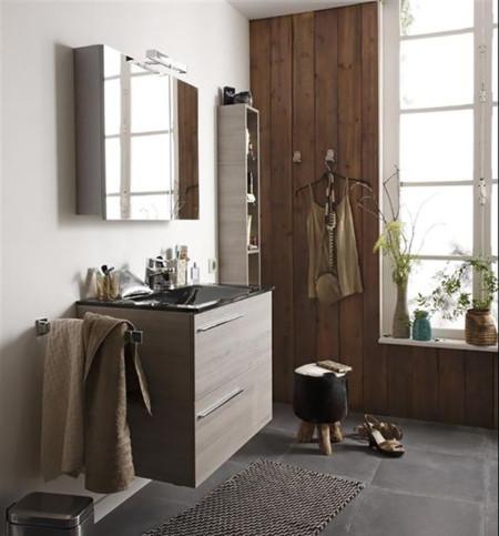 e5294f9278e0 La madera en el baño: dónde, cómo y cuál poner