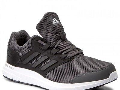 Zapatillas Adidas Galaxy 4 en gris y negro desde 33,42 euros en Amazon con envío gratis