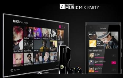 Nokia Music Mix Party, crea listas de reproducción de manera social