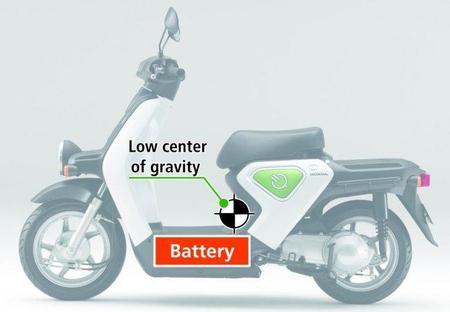 Centro de gravedad Honde EV-Neo