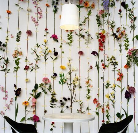 Originales ideas de cómo colgar tus flores y plantas en la pared