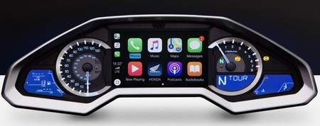 Honda Gold Wind 2018 Carplay