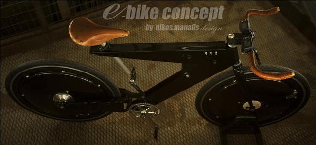 Foto de Bicicleta Eléctrica Nikos Manafis (7/11)