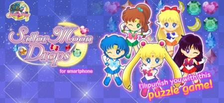 Sailor Moon Drops ahora cuenta con 135 niveles