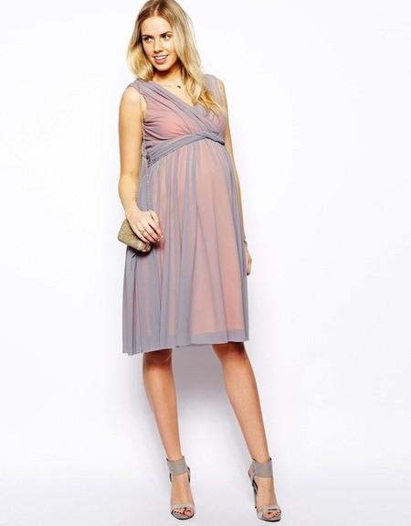 6954bc2a1 Moda embarazadas Primavera Verano 2014  vestidos cortos de fiesta para  diferentes ocasiones