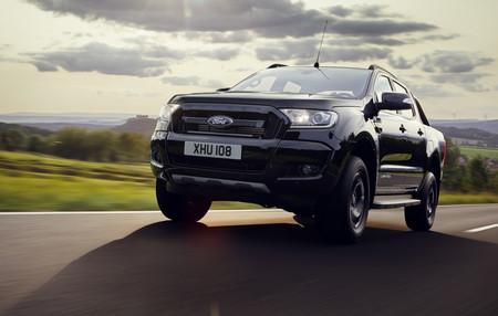 """Ford Ranger Black Edition: listo para Frankfurt y sólo 2.500 """"oscuras"""" unidades"""