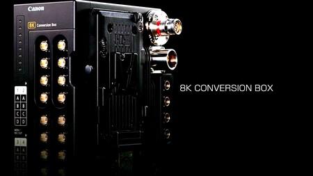 8k canon cinema conversion box