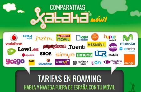 ¿Viajas fuera de España? Así son las tarifas moviles para hablar y navegar en roaming