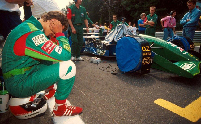 Michael Schumacher Jordan Parrilla 1991