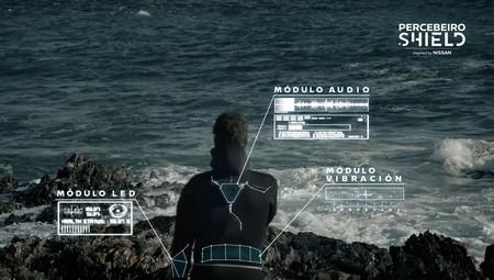 'Percebeiro Shield' suena a coña, pero es el escudo protector de Nissan que predice las olas más peligrosas