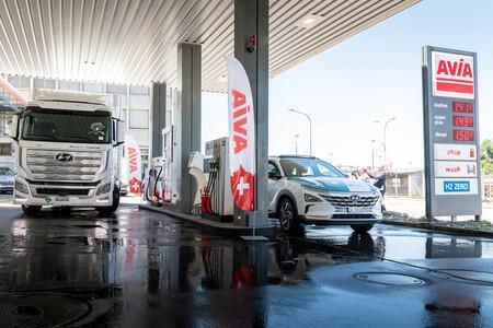 Hyundai Xcient hidrógeno en Suiza