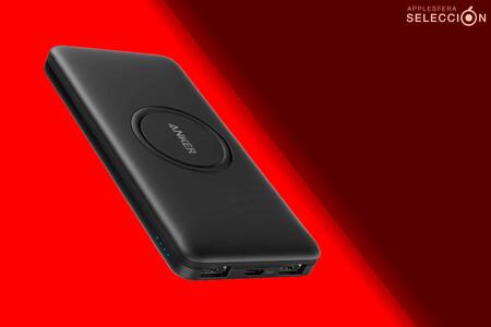 A tope de carga este verano con la batería externa Anker PowerCore de 10.000 mAh: USB-C y Qi por 27,99 euros en Amazon