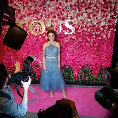 Paula Echevarría se convierte en princesa en México ajena al lío montado por su divorcio