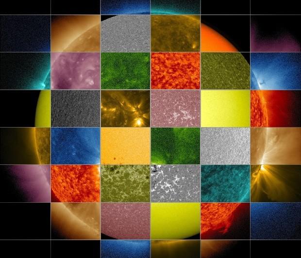 [Vídeo] Un Sol multicolor nunca visto antes