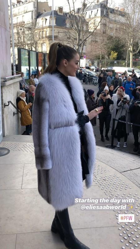 Olivia palermo semana de la moda paris
