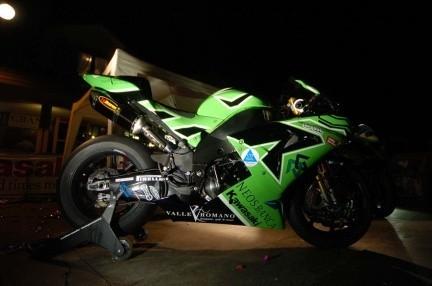 Presentación del equipo Kawasaki PSG-1 de Superbikes